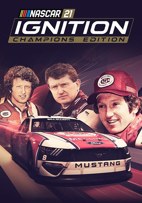 NASCAR 21: Ignition - Champions Edition - Cover / Packshot