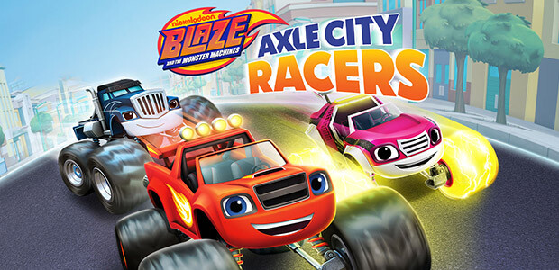 Blaze and the Monster Machines: Axle City Racers - Cover / Packshot