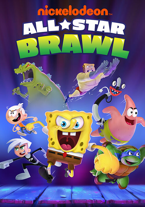 Nickelodeon All-Star Brawl - Cover / Packshot
