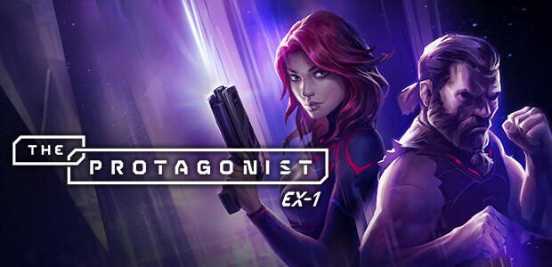 The Protagonist: EX-1 - Cover / Packshot