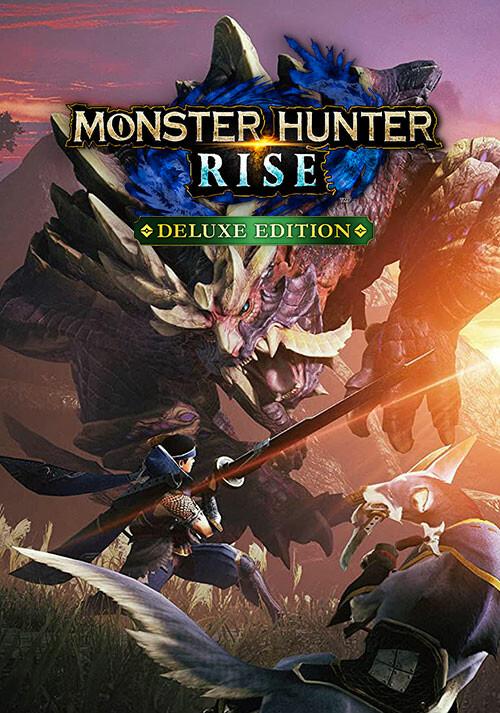 MONSTER HUNTER RISE Deluxe Edition - Cover / Packshot