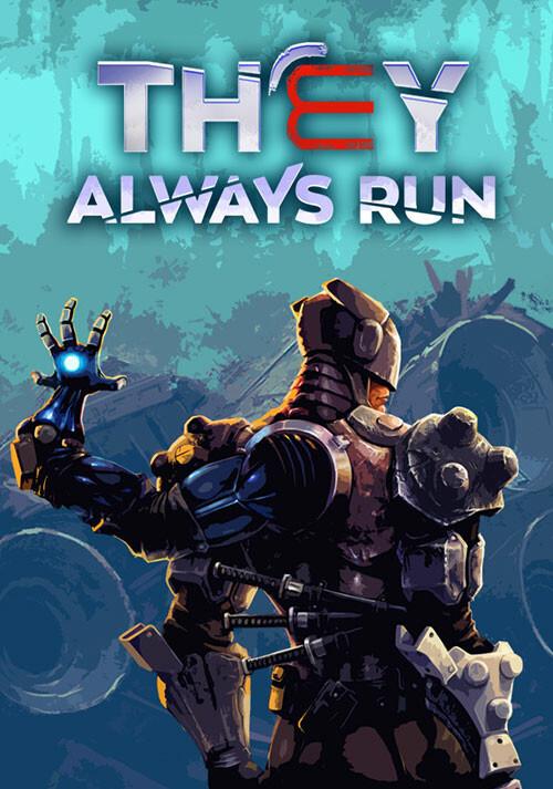 They Always Run - Cover / Packshot